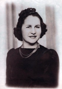 Phyllis in the 1940's