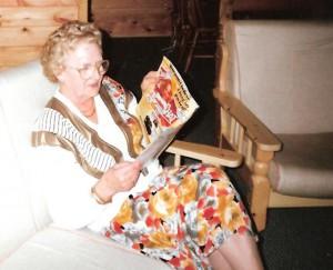 Mum loved her magazines